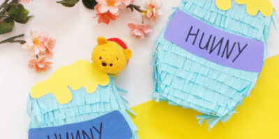 DIY: Make your very own Winnie the Pooh Hunny Pot Piñatas