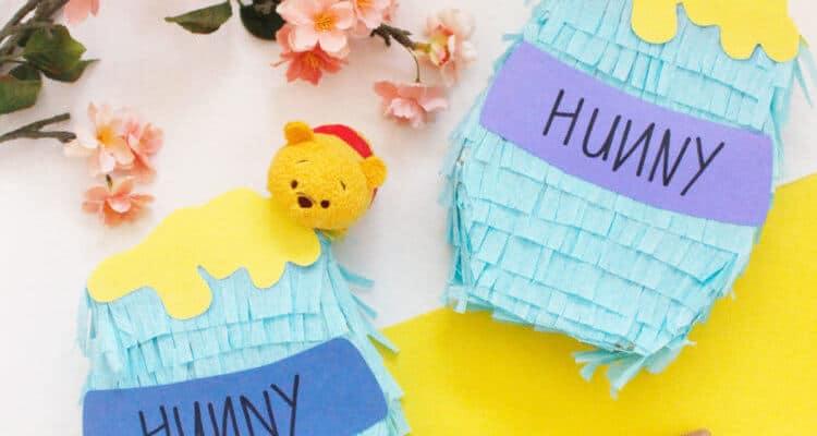 DIY: Make your very own Winnie the Pooh Hunny Pot Piñatas