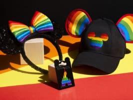 Magical Pride merchandise preview at Disneyland Paris