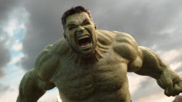 mark ruffalo as bruce banner aka the incredible hulk in marvel thor ragnarok