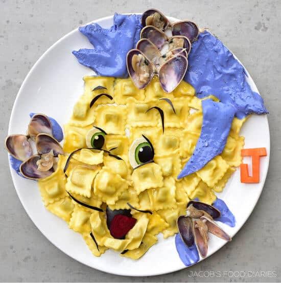 Disney-inspired food