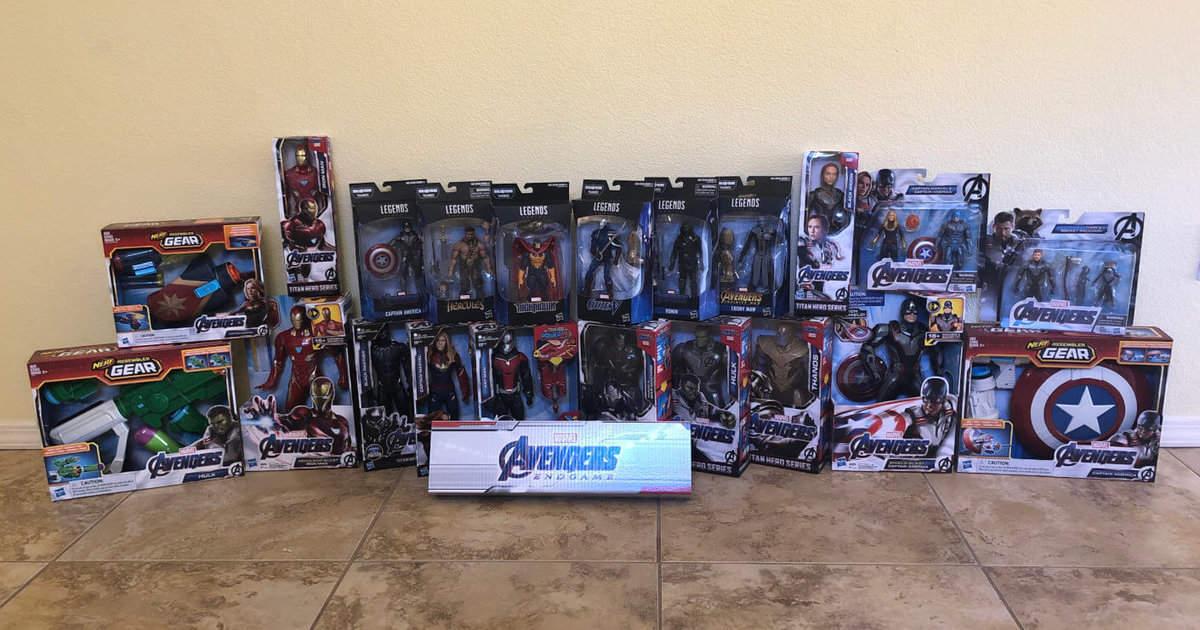 Avenger Endgame Toys