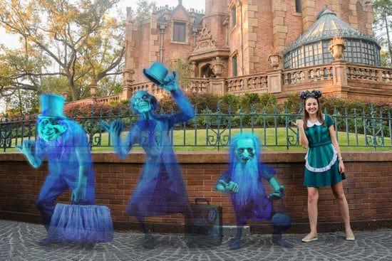 Haunted Mansion PhotoPass