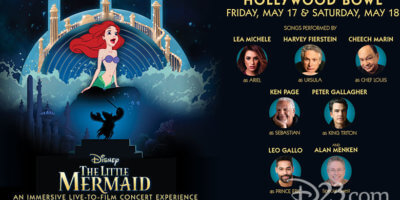 Little Mermaid Hollywood Bowl