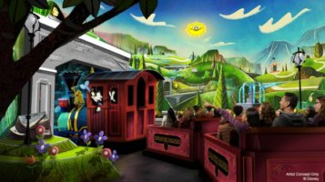 Runaway Railway Disneyland