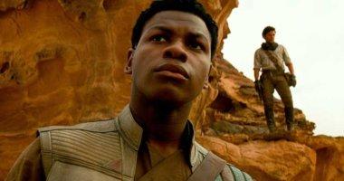 John Boyega Finn with Oscar Isaac