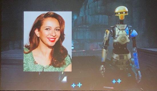 Maya Rudolf as Droid Zoe