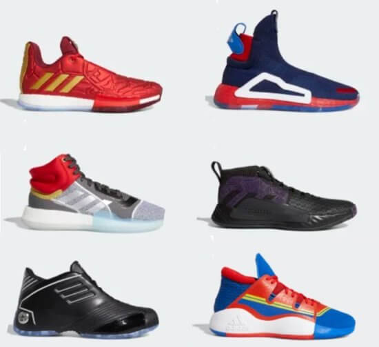 Marvel x Adidas sneakers