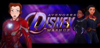 Disney Princesses Marvel Avengers