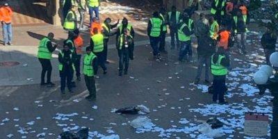 Disneyland Paris entrance trashed after employee protest
