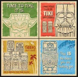 Star Wars Geeki-Tikis Coasters