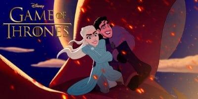 Game of Thrones Disney art