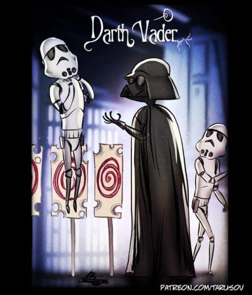 Andrew Tarusov Darth Vader