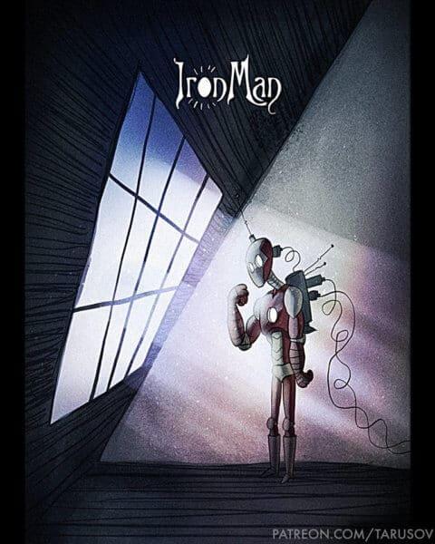 Andrew Tarusov Iron Man