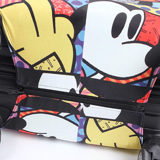 Mickey luggage cover