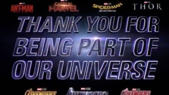 """Marvel Studios Tells Avengers Fans: """"We Love You 3000"""""""