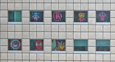 """Office workers use post-its to create """"Avengers: Endgame"""" characters"""