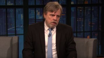 Mark Hamill impersonating Harrison Ford