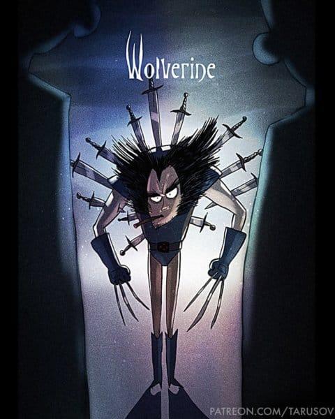Andrew Tarusov Wolverine