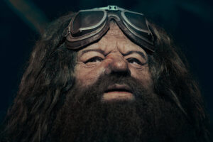Universal Orlando gives first look at life-like Hagrid animatronic from Hagrid's Magical Creatures Motorbike Adventure