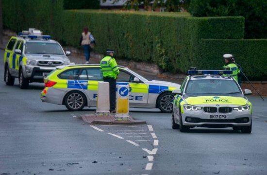 Wallasey, England three-vehicle crash in September 2018