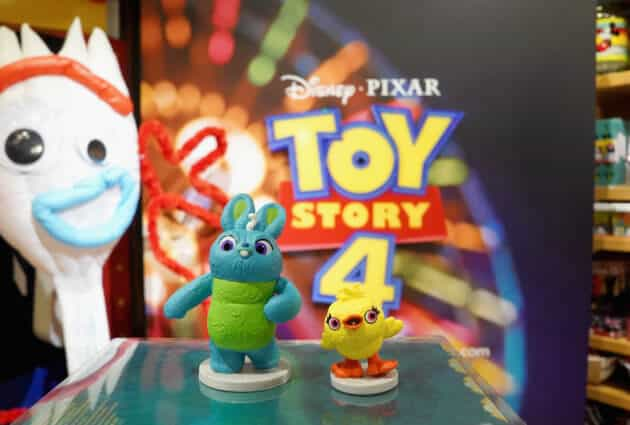 Disney Store Toy Story 4 Takeover