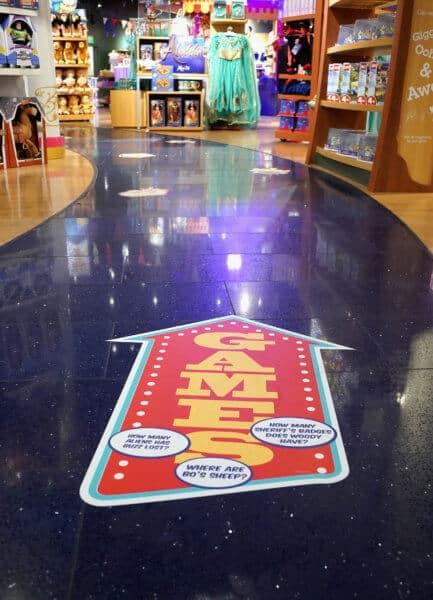 Disney Store games