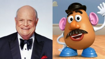 Mr. Potato Head voiced by Don Rickles