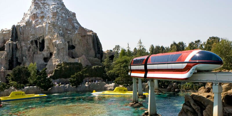 Disneyland Monorail