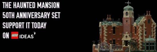 LEGO ideas Haunted Mansion