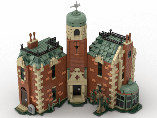 Haunted Mansion LEGO set