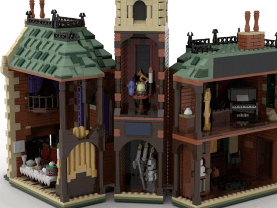 Haunted Mansion LEGO idea set