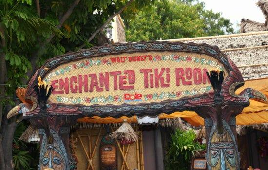 Enchanted Tiki Room Marquee