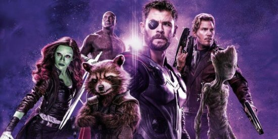 thor with guardians of the galaxy