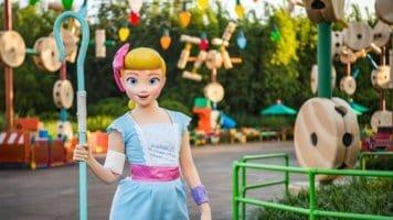 Bo Peep in Disney Parks