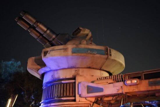 Galaxy Edge guns after dark