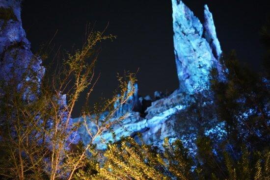 Galaxy Edge after dark