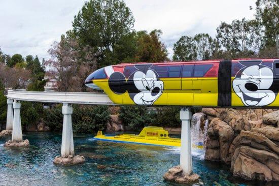 Disneyland's Monorail