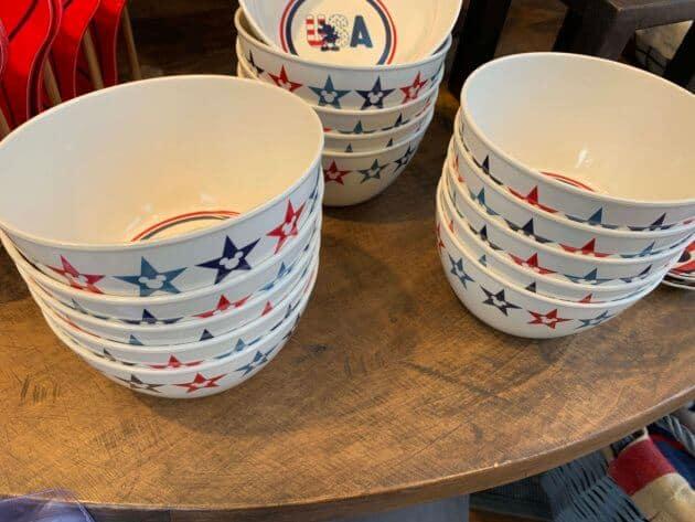 Mickey Mouse Americana Bowls