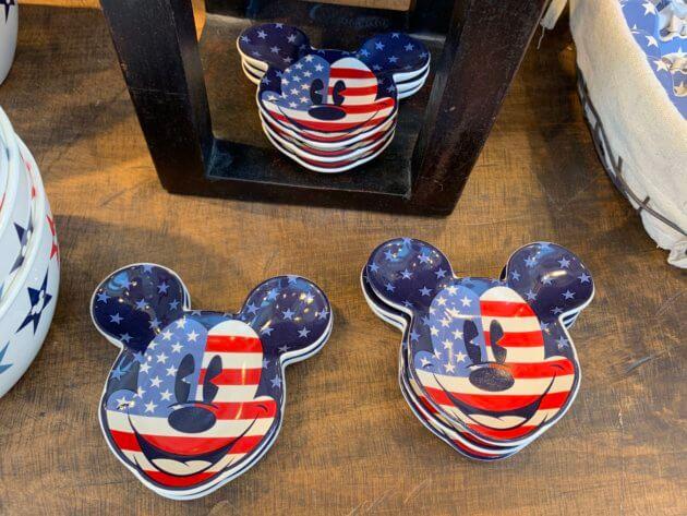 Mickey Mouse Americana Trinket Trays