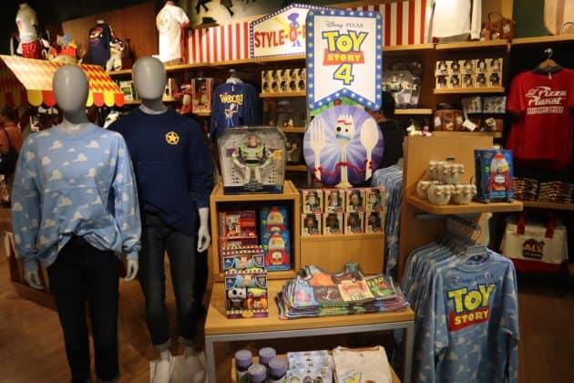 Disney Store Toy Story 4 merchandise