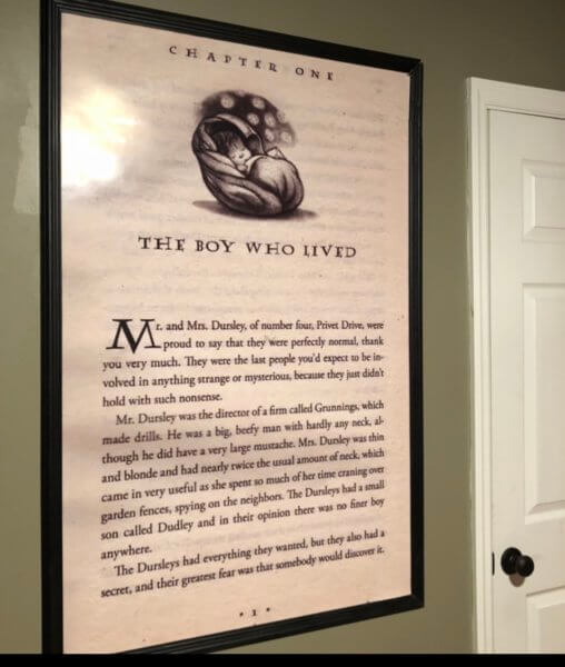 book page poster