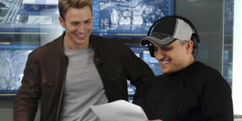 Joe Russo and Chris Evans