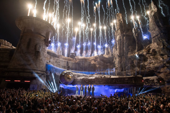 opening of star wars: galaxy's Edge