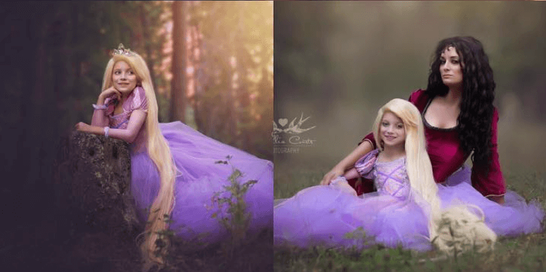 Mother Daughter Cosplay