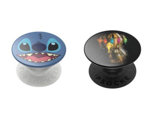 Stitch and Marvel PopSocket