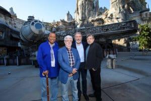 Original star wars stars at Galaxy's edge
