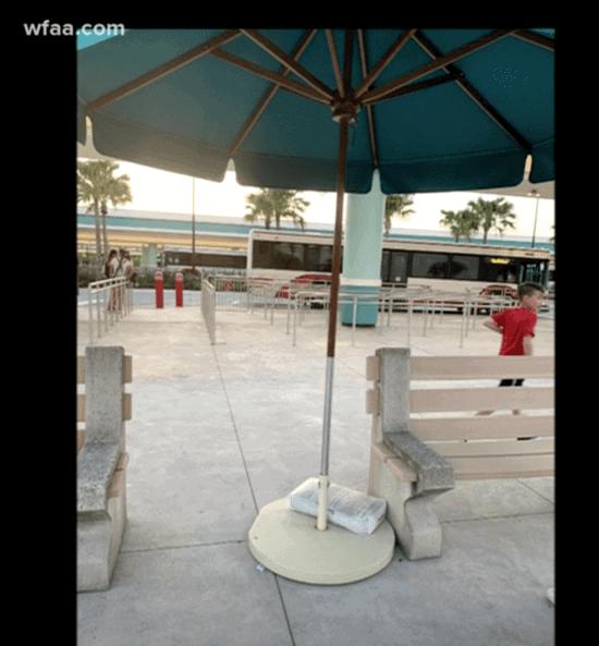 Walt Disney World umbrella