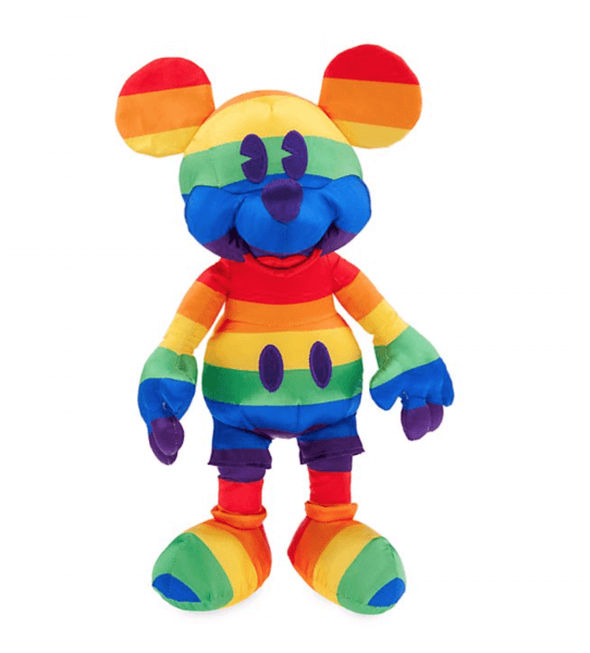 Rainbow Mickey plush