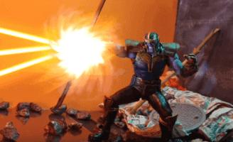 Avengers: Endgame stop-motion video